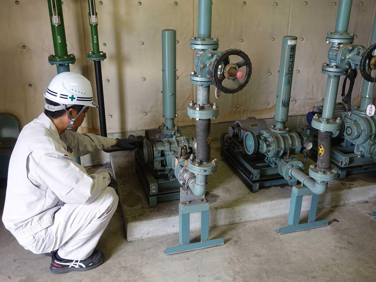 汚水処理施設設計施工維持管理5
